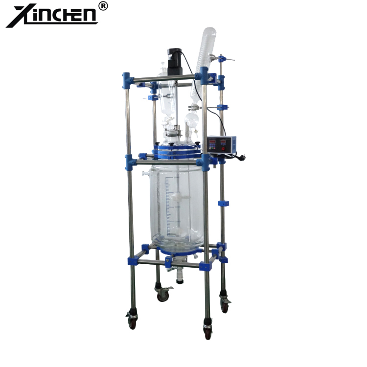 20l Lab Jacketed Glass Reactor