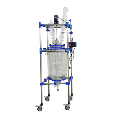 50L Double layer glass reactor