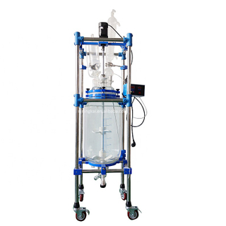 30l glass reactor Jacketed Glass Reactor