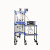 3000W industrial ultrasionic jacketed glass reactor